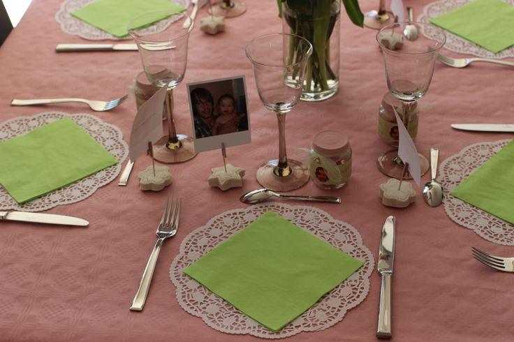Les 14 meilleures images du tableau mes jolies tables anniversaire bapt me no l sur pinterest - Marque place noel pate a sel ...