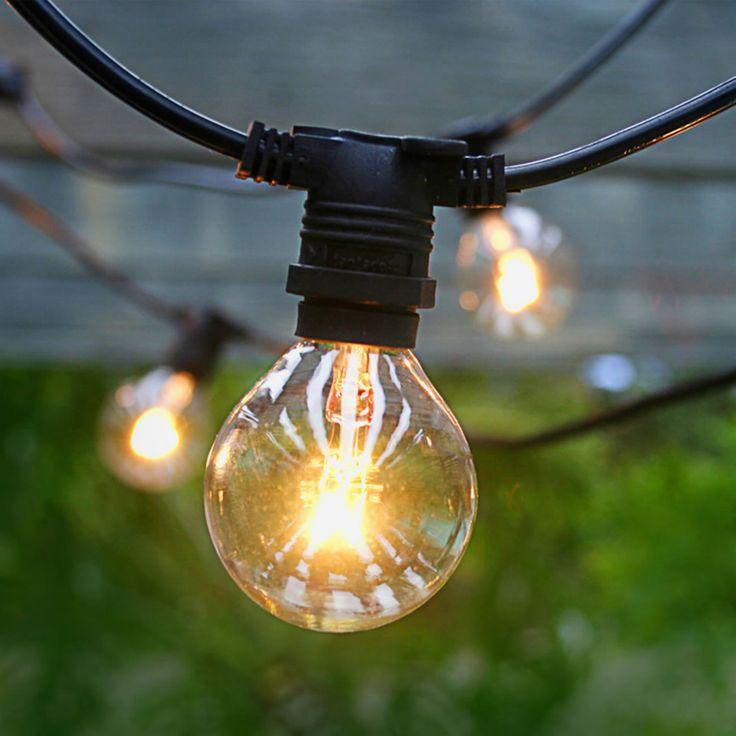 Asian Import Store Distribution Light Black Wire Outdoor Patio Light Set - 1013-5226