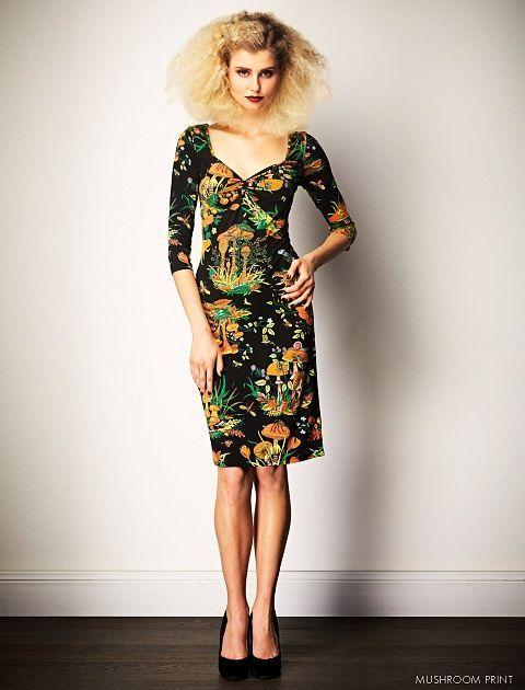 2013. Print: Mushroom Leona Edmiston dress