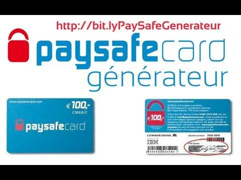 PaySafeCard Generateur [Gratuit] [Septembre]