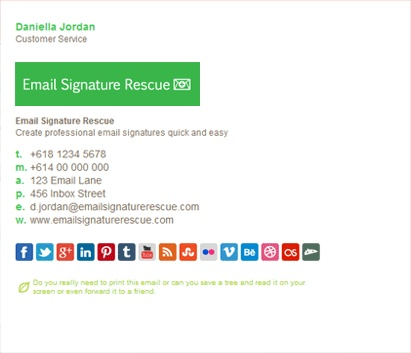 Best Email Signatures Images On   Email Signatures