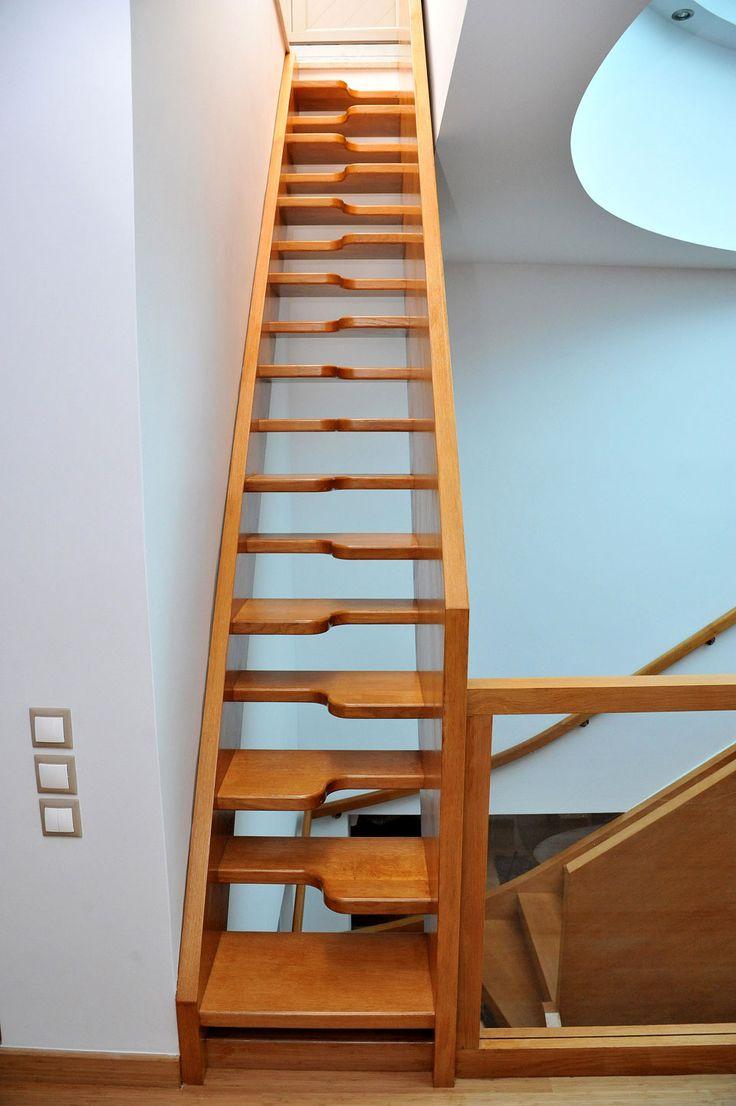 Samba Stair Made By Oak Wood Xyloskal Wood Samba Stair