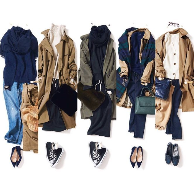 Trench coordinates by K K Closet