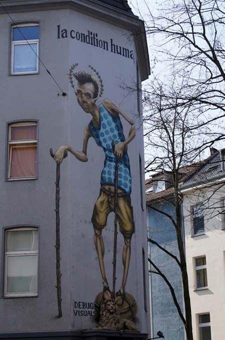 Visuals debug a Düsseldorf, Germania