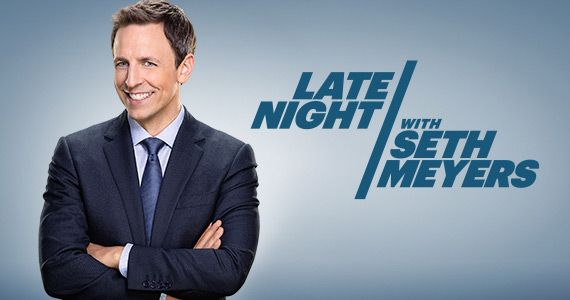 Seth Meyers opens Late Night show with Thank You Note for Jimmy Fallon