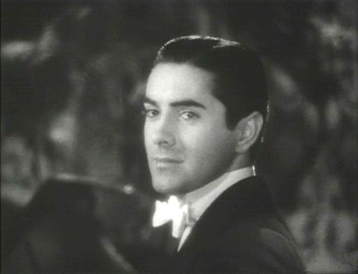 Tyrone Power-one of Hollywood's best looking actors of the 30's and 40's.