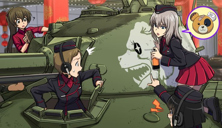 「Panzer 58 Mutz」/「新米」のイラスト [pixiv]