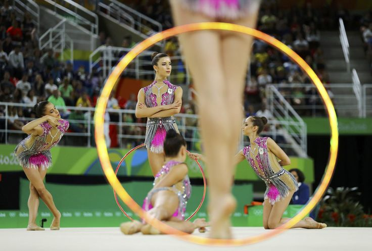 2016 Rio Olympics - Rhythmic Gymnastics - Final - Group All-Around Final…