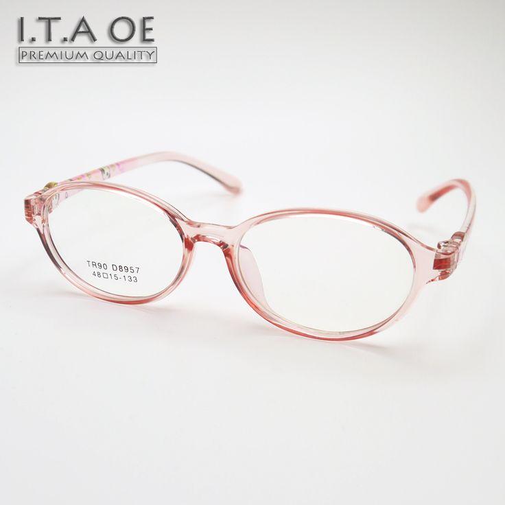 ITAOE 3~8 Age Boy Girl Kid Children Full Rim Comfortable Flexible Tr90 Myopia Reading Optical Eyewear Frames Glasses Spectacles