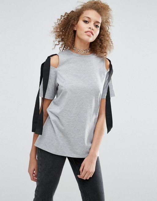 Camiseta hombros descubiertos