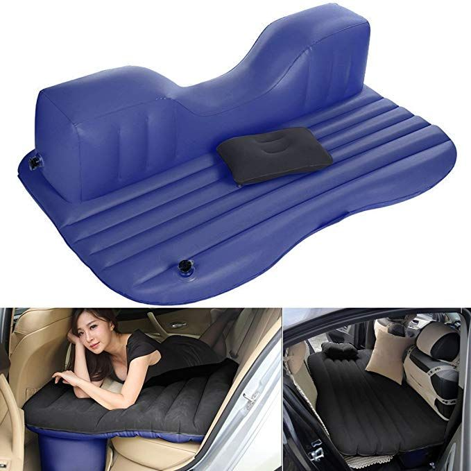 Inflatable Mattress Air Cushion Car Backseat Bed with Pump /& 2 Pillow 330lbs