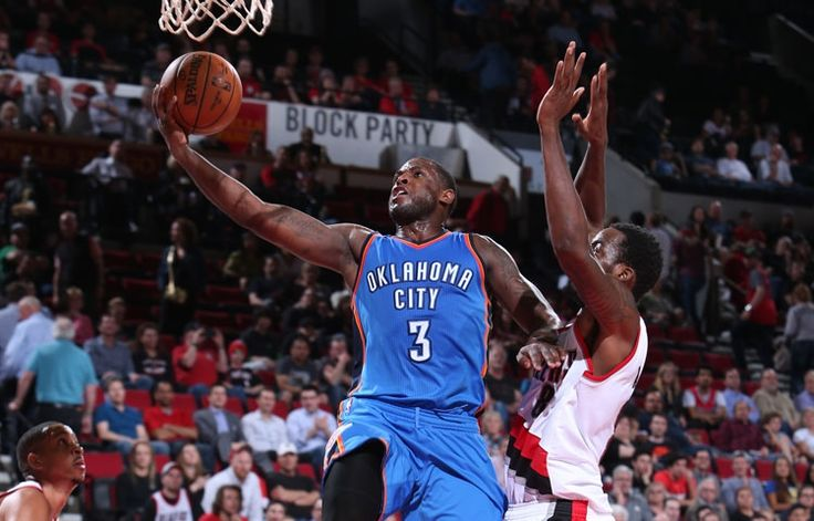 Thunder at Trail Blazers - April 6, 2016