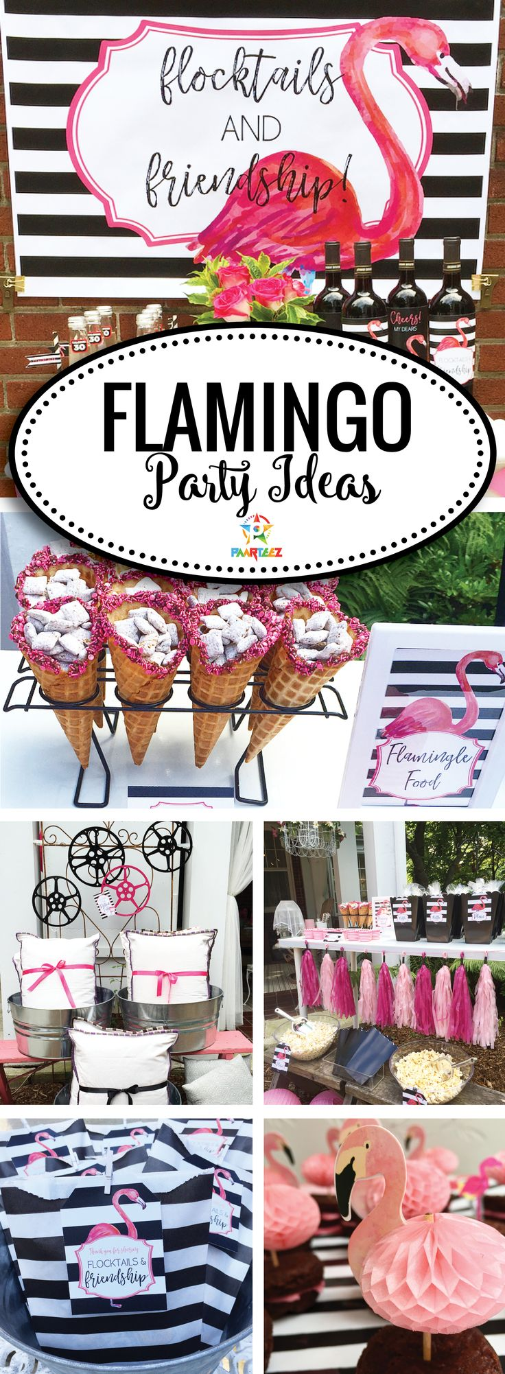 Flocktails & Friendship - Outdoors Movie Night Party Ideas!