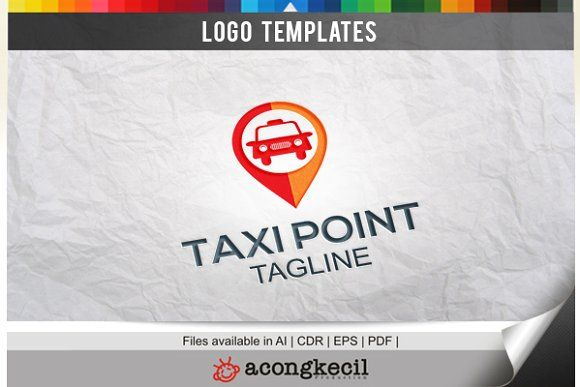 Taxi Point by Acongraphic on @creativemarket