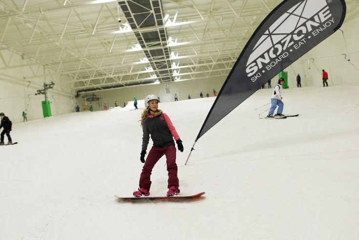 Eight Hour Beginner Day Course in Skiing or Snowboarding