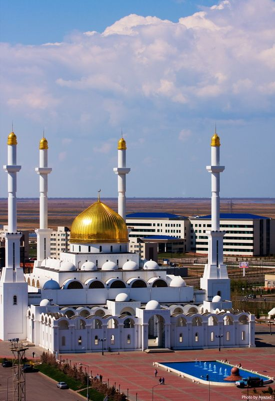 The Central Mosque - Astana, Kazakhstan