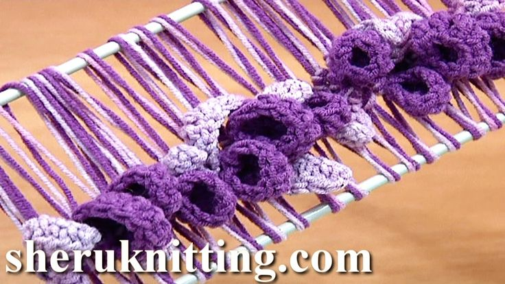 Get the more patterns at http://sheruknitting.com/ Hairpin lace crochet, hairpin patterns, double strand crochet on hairpin loom, crochet flowers and leaves ...