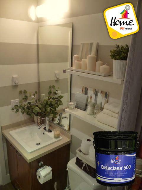Conoce los beneficios de pintar el ba o con esmalte - Pintar bano con hongos ...
