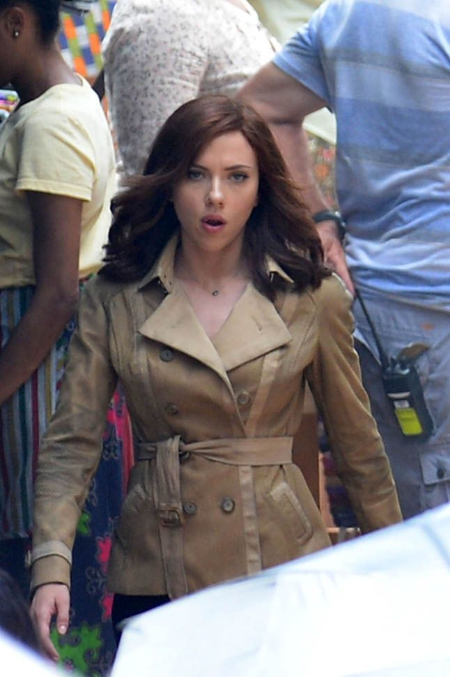 Scarlett Johansson on the set of Captain America: Civil War in Atlanta, Georgia, May 20, 2015 227754