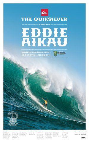 Eddie Aikau 2010 poster - Photo | AlohaUpdate