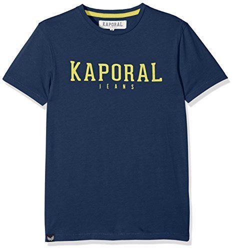 Kaporal Rona Bleu (Blueus) T-Shirt Garçon Bleu (Blue Us) 16 Ans (Taille Fabricant: 16A)