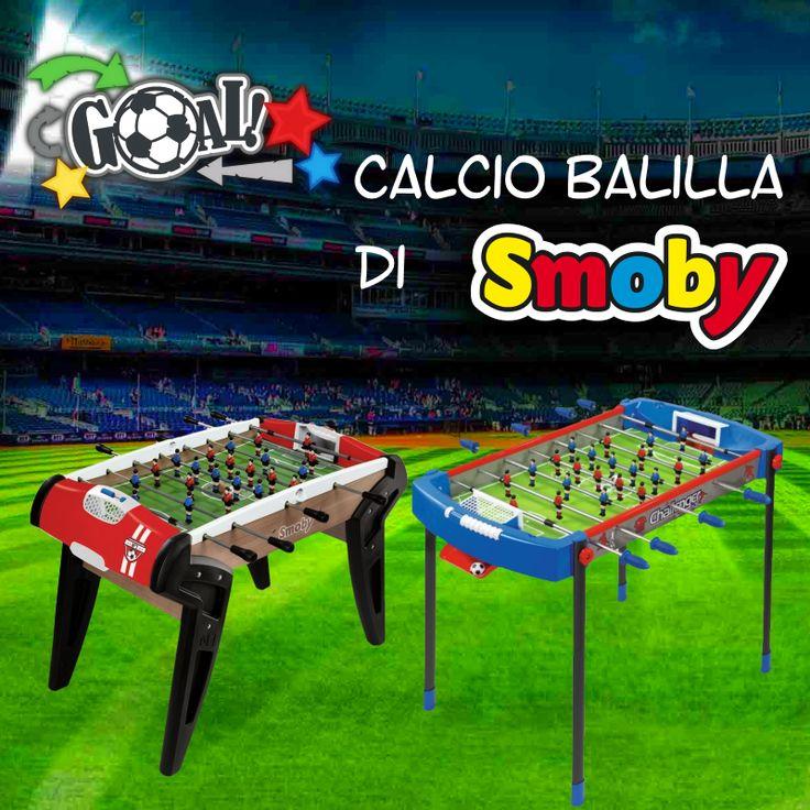 Scegli la tua squadra, scendi in campo e sfida i tuoi amici con i nuovi calcio balilla di #Smoby! In negozio e online: http://www.bebeconfortsnc.it/