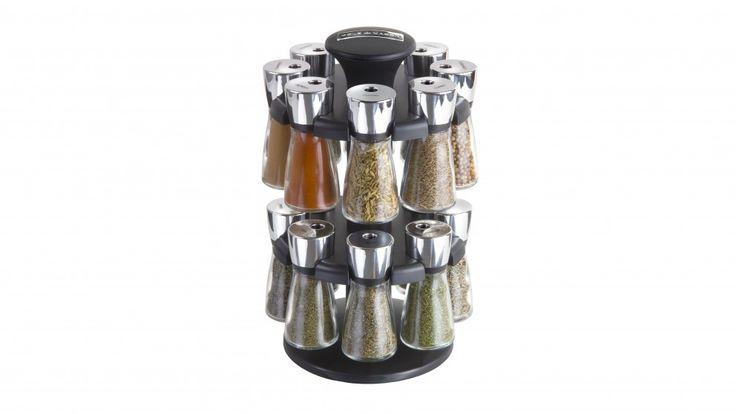Cole & Mason 16 Jar Herb & Spice Rack Carousel - Storage | Harvey Norman Australia