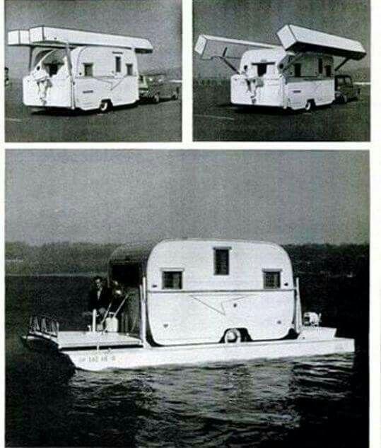 Sealander Amphibious Camping Trailer: 17 Bästa Bilder Om Boats På Pinterest