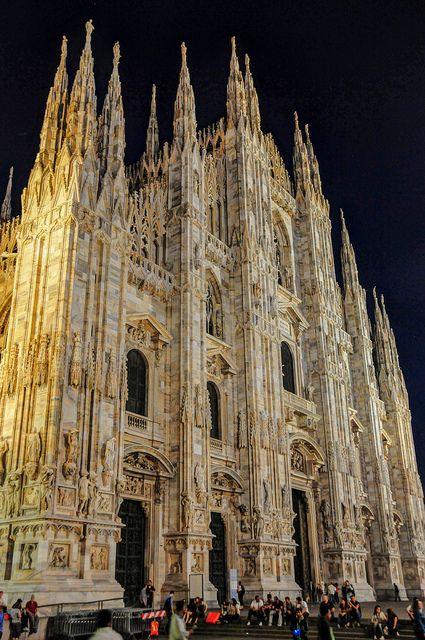 Duomo di Milano - Milan Cathedral at Night - Milan Italy Arran Christie NJ