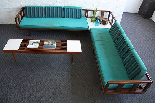 Danish Modern Mid Century Modern Sectional Daybed Sofa | Flickr - Photo Sharing!