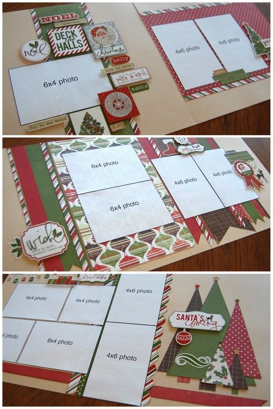 December 'Super-Saver' page layout kit by Debbie Sanders for Scrapbook Generation