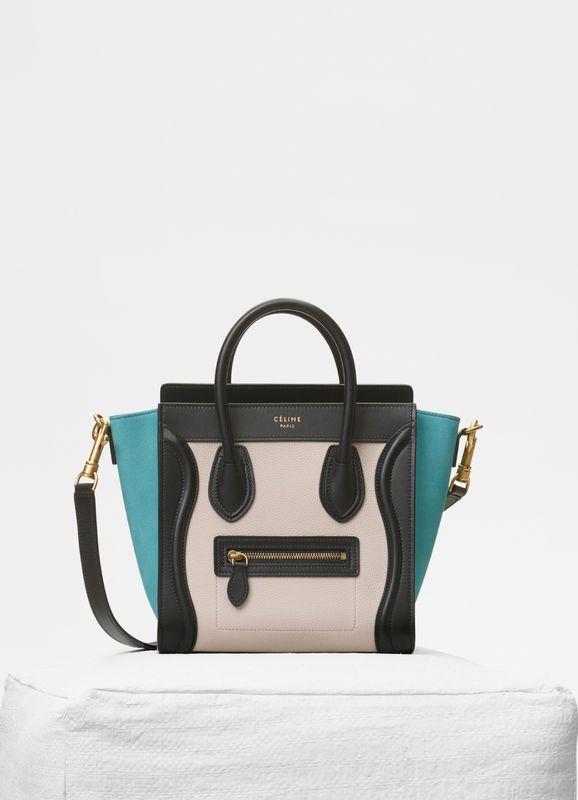 f4a78cbe7558 Nano luggage bag in multicolour baby grained calfskin cÉline jpg 578x800 Nano  bag for babies