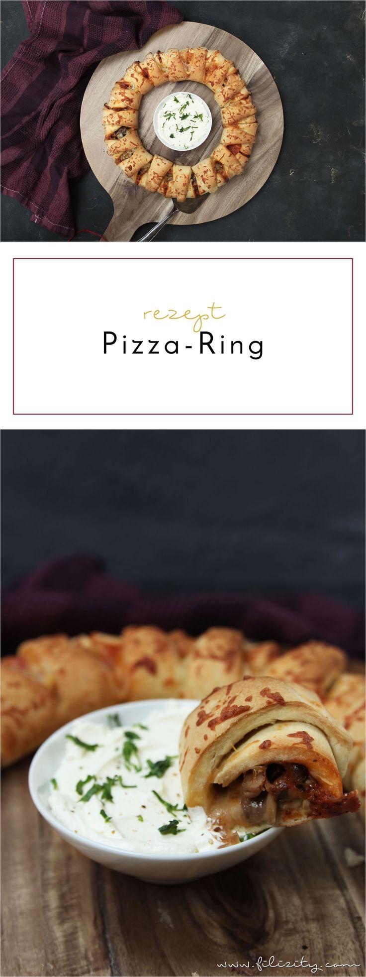 Pizzaring – Kreatives Rezept für schlecht essende Kinder