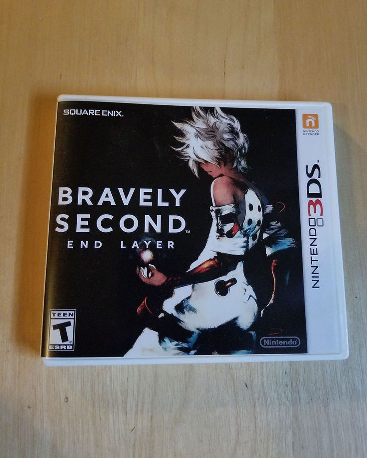 Bravely Second: End Layer Nintendo 3DS 2016 GREAT SHAPE SQUARE ENIX RPG