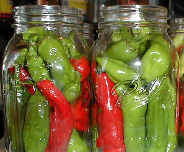 Pickled peppers are a pantry staple here.  DH always plants several types of peppers and every year I put up quarts of hot banana peppers (a...