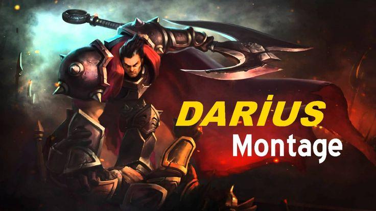 League of Legends - Darius montage 2016   Best Darius plays!