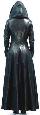 Full length coat back style