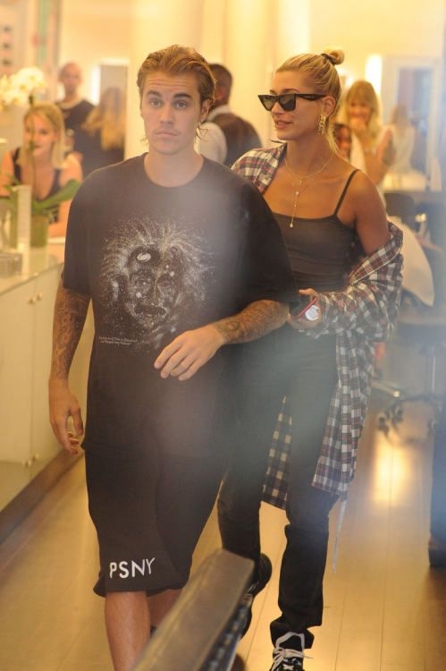Justin Bieber 2018 August New Hairstyle Hailey And Justin Biebers