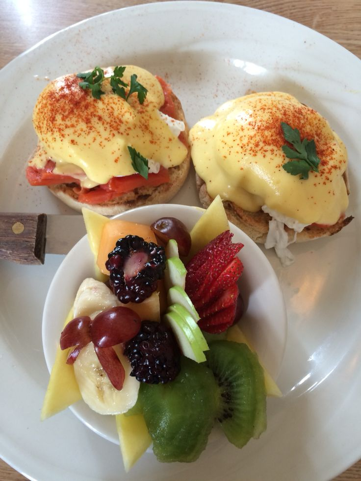 Eggs Benedict with Smoked Salmon in Pacific Grove, CA | Adventures ...