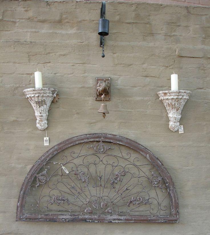 Bells, candelabras, door knockers ...
