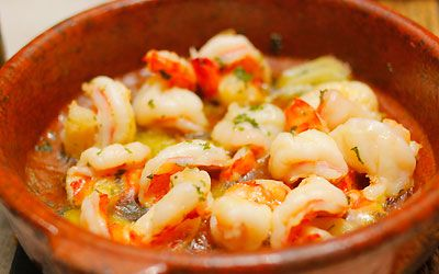 えびのアヒージョ|スペイン料理簡単レシピ集