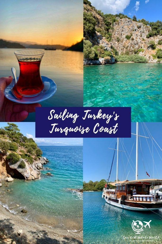 Sailing In Turkey 2 Days On The Turquoise Coast Top Travel