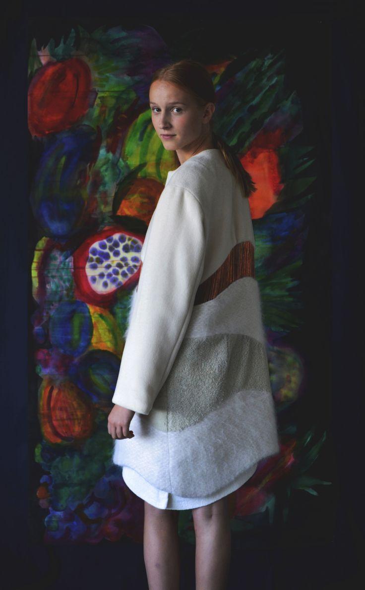 Anni Lehtosalo BA Graduate Collection. Photography: Sara Riikonen.   #mohair  #copper