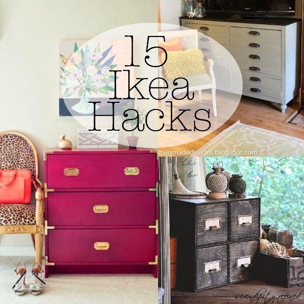 15 Inspiring Ikea Hacks...