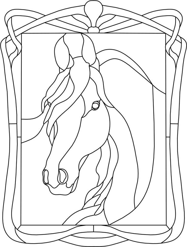 stained glass animals | Sunny Brook Studio Stained Glass: Free Patterns - Animals