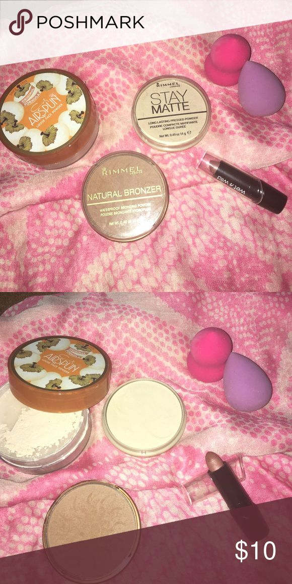 Affordable favorites! Coty , Rimmel & Wet&Wild (With