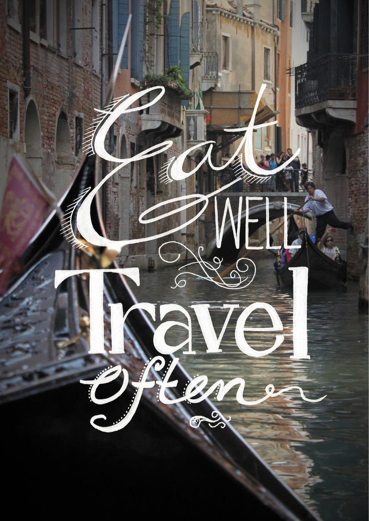 Eat Well Travel Often. Hand lettering and photography by Danielle Lattuca - The Loop