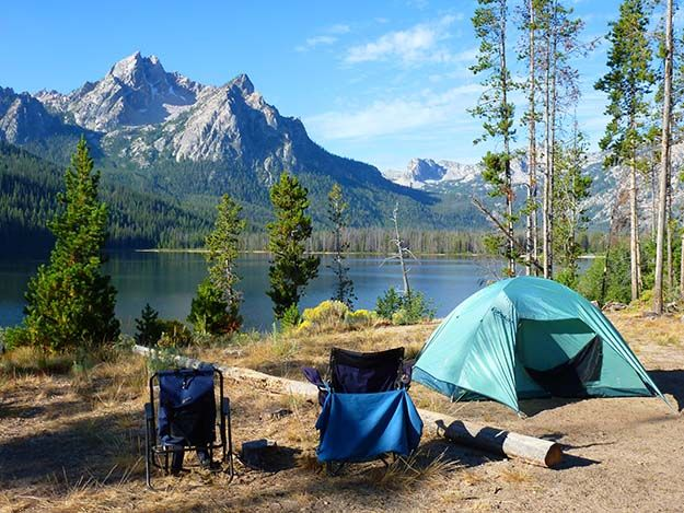 Basin Creek Campground – Stanley | Best Campgrounds in Idaho | Beautiful and Fun Outdoor Sites To Visit This Summer : http://survivallife.com/best-campgrounds-in-idaho/
