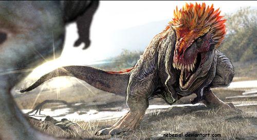 Feathered dinosaurs.  nebezial.deviantart.com