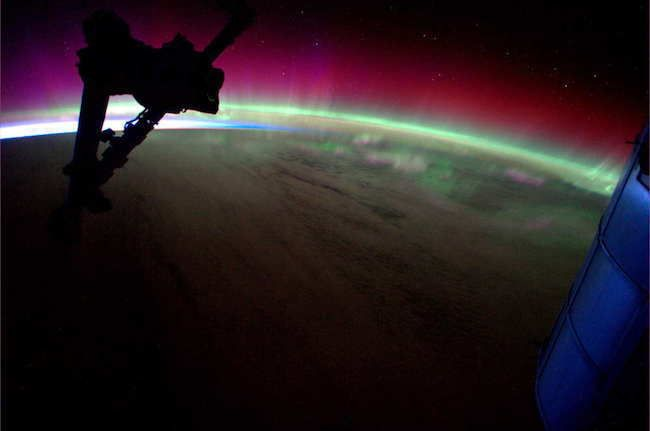 Another Perspective Of The Northern Lights (Aurora Borealis) 30 Stunning Pictures Of Earth Taken From Space • Page 5 of 6 • BoredBug